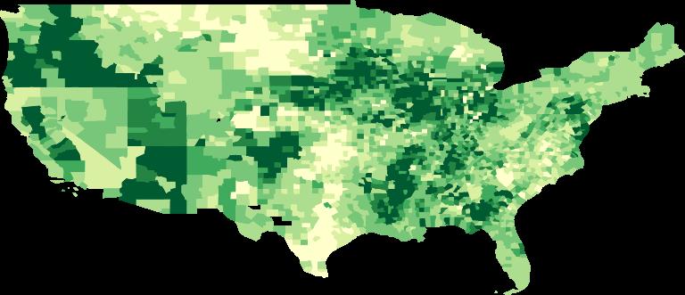 2d-choropleth-map