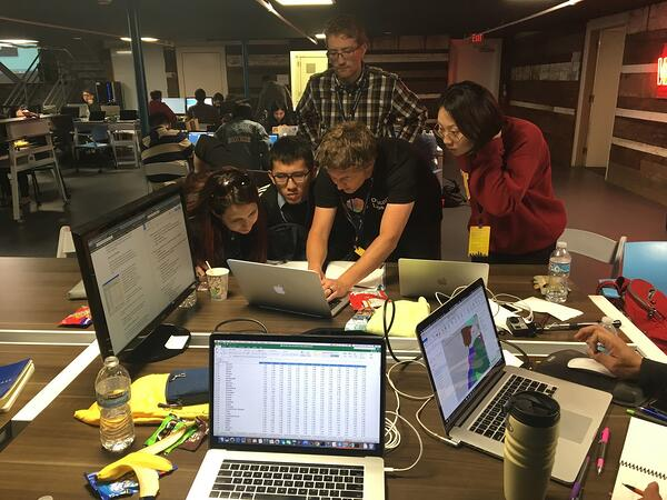 Pizza, Python, and the platform API powered us into theevening