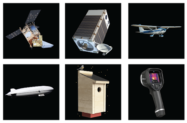 A new generation of space, aerial and ground-based sensors and delivery vehicles can make measurement more effective and more efficient