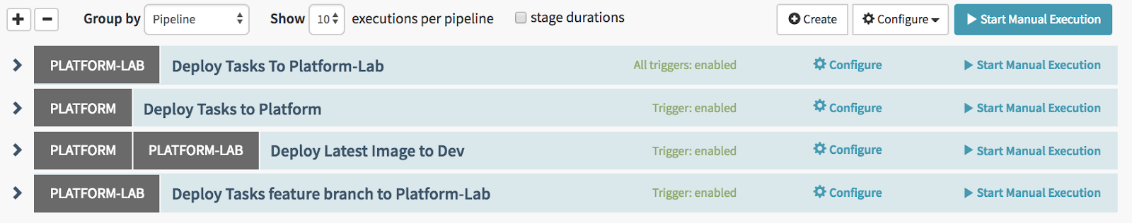 Deployment Pipelines for a Descartes Labs Service