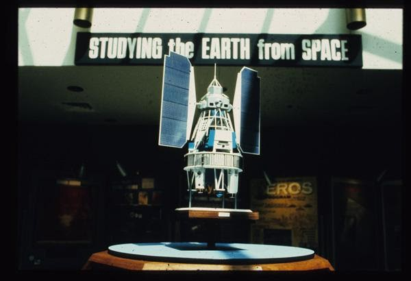 A model of the Earth Resources Technology Satellite (ERTS)