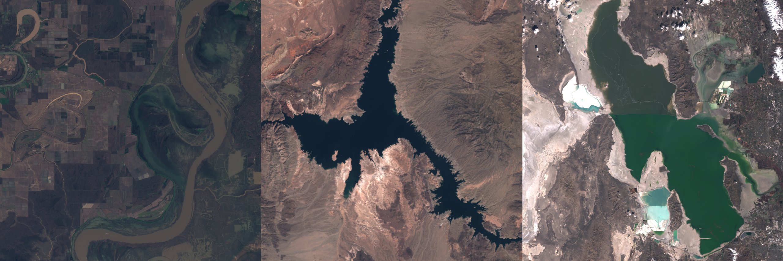 images from the Sentinel-2 satellite